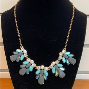 Multicolored J. Crew Drop Necklace